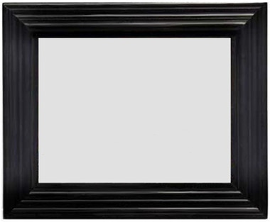 Black Beveled Tile Frame for 6x8 Tile