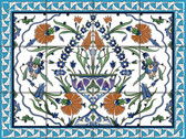 Caribbean Panel Ceramic Tile Mural