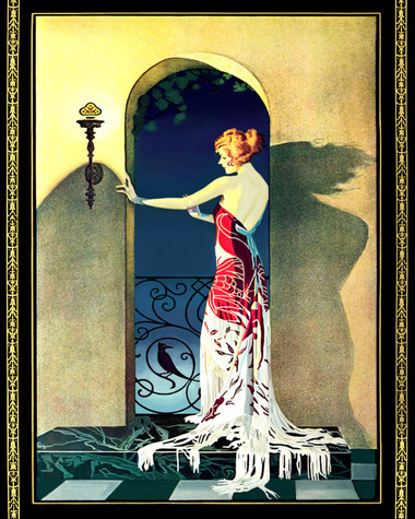 Coles Phillips Decorative Art Tile Home Accents