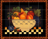 Fruit Bowl Mural Xlarge