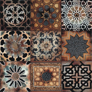 Old World Artistic Tile, designs by Connie's Custom Creations