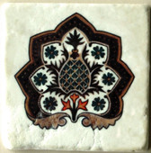 pineapple stone tile backsplash, decorative tile designs by connie's custom creations