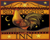 Red Rooster Inn Art Tile