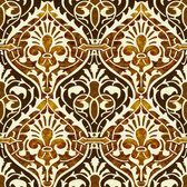 Terracotta Arabesque Ceramic Backsplash Tile