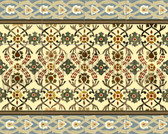 arts & crafts tile mural, ceramic tile design, kitchen backsplash mural