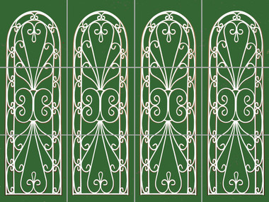 Arch Panels Decorative Custom Mural