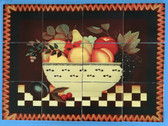 "Fruit Bowl Mural 24"" x 18"""