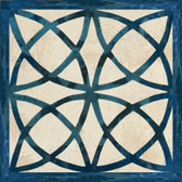 blue celtic artistic tile