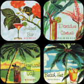 cocktail coaster set