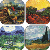 van gogh coaster set