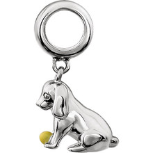It's time for puppy love with our playful little charm that looks irresistibly sweet on a charm bracelet or chain. Polished to a brilliant shine.