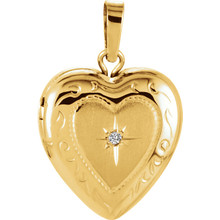 A locket is said to hold the deepest secrets of your heart, highly personal to its wearer.