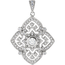 No woman's jewelry box is complete without a simple yet stylish diamond necklace. The 14k white gold and 86 diamonds, .50ct tw., turn this diamond necklace into something that stands out. It adds some serious sparkle to any lady lucky enough to own it!