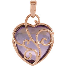 Fall in love with the charm of this beautiful piece of jewelry from our newest and most charming line of pendants. The intricate details and elegance will turn heads and start a conversation where ever you go!