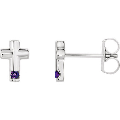 Amethyst is the gem of sobriety and peace. JA Diamonds amethyst is a rich purple that complements both warm and cool colors.
