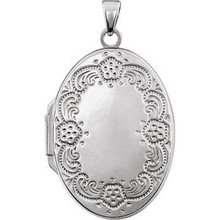 This timeless piece of jewelry is crafted with polished sterling silver for an elegant and classy look.