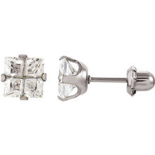 Product Specifications  Product Dimensions: 07.00 mm  Quality: Nickel Plated  Jewelry State: Complete With Stone  Weight: 0.02 Grams  Finished State: Polished  Pair