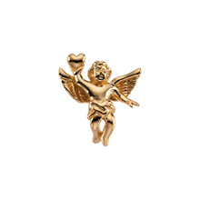 "This pretty, cherub and heart lapel pin features a little cherub holding a heart (also called ""angel"" by some, in popular tradition, ""cherub"" has become synonymous with ""baby angel"")."