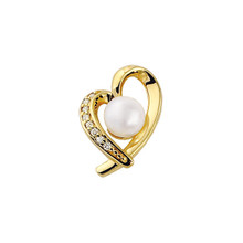 Product Specifications  Quality: 14K Yellow Gold  Jewelry State: Complete With Stone  Total Carat Weight: .08  Stone Type: Cultured Pearl  Stone Shape: Round  Stone Quality: AA  Stone Size: 07.00 mm  Weight: 2.45 grams  Finished State: Polished