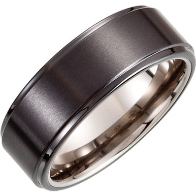 Product Specifications  Brand: Dura Tungsten  Quality: Ceramic & Tungsten  Ring Width: 08.30 mm  Surface Finish: Satin/Polished