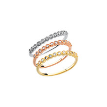 Product Specifications  Quality: 14K Gold Anniversary Band  Jewelry State: Complete With Stone  Total Carat Weight: 1/6  Stone Type: Diamond  Stone Shape: Round  Stone Color: H-I  Stone Clarity: SI1-SI2  Finished State: Polished