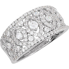 Product Specification  Quality: Sterling Silver  Ring Size: 7  Size: 10.46 mm  Stone Type: Cubic Zirconia  Stone Shape: Round  Weight: 4.17 grams  Finished State: Polished
