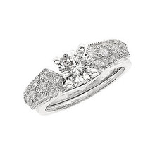 Product Specification  Quality: 14K White Gold  Jewelry State: Complete With Stone  Total Carat Weight: 1/5  Ring Size: 06.00  Stone Type: Diamond  Stone Shape: Round  Stone Color: H-I  Stone Clarity: SI1-SI2  Width: 7.85 mm  Weight: 3.50 grams  Finished State: Polished