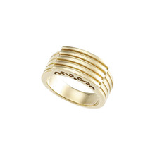 Product Specifications  Quality: 14K Yellow Gold  Standard Ring Size: 06.00  Weight: 6.75 Grams  Finish State: Polished