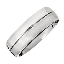 Product Specifications  Quality: Titanium  Style: Men's Wedding Band  Ring Sizes: 10  Width: 7mm  Surface Finish: Satin/Polished