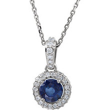 Blue Sapphire's breathtaking color symbolizes loyalty and trust. It celebrates September birthdays.