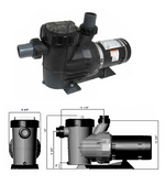 ASTRAL   TWO SPEED UP-RATED PUMPS   IGP2020D