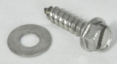 "WATERWAY | SCREW SLOT HEX WASHER 1/4"" X 1 1/4"" 