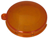 FIBERSTARS | Lens cover, snap-on plastic, Orange | FPAL-LO