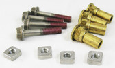 HAYWARD   HARDWARE PACK (INCLUDES 4 HOUSING BOLTS, SEAL-PLATE SPACERS & SQUARE NUTS)   SPX2700ZPAK