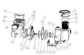 PENTAIR | VFD MOTOR 3.2KW PMSM | 350105S