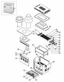 PENTAIR   Heat Exchanger W/o Heads Model 350   472135