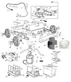 "AQUA PRODUCTS | TUBE (Black, Plastic, 3"" Oval, 15"" Long) - JetMax & JETMAX turbo| S101915"