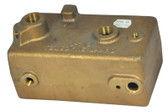 TELEDYNE  | HEADER, IN/OUT - BRONZE  | 10489200