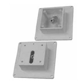 JANDY | MINIJET COVER PLATE, SCREWS, WHITE | MJ6300