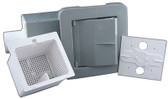 WATERWAY | COMPLETE FRONT ACCESS SKIMMER, GRAY | 510-1507