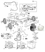 AQUA PRODUCTS | POWER SUPPLY (OLD VERSION, 3 PRONG MALE, 90 SECOND DIGITAL TIMER, 36V) JETMAX JR | 7075D