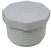 "STA RITE | PLUG ONLY WITH 8 SIDE HEAD, 1 1/2"" MPT, WHITE 