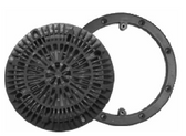 CUSTOM MOLDED | MAIN DRAIN RING AND COVER, GRAY | 25548-001-000