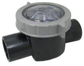 """WATERWAY   STRAIGHT VALVE 1 1/2"""" SLIP X 2"""" SPG   600-7030"""