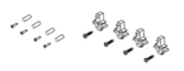JANDY   SCREW KIT, AQUALINK TOUCH R-KIT (WIRED UNITS)   R0522800
