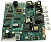 "BALBOA | VS510S CIRCUIT BOARD MEASURES 11"" X 5"" (2) 8 PIN PHONE PLUG CONNECTORS CHIP NUMBER VS510SZR1A 