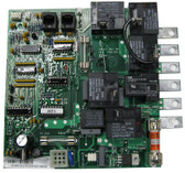 "BALBOA |1560-96 REPLACEMENT BOARD 6 1/16"" X 5 3/4"" CHIP# SLCR1C (2) 6 PIN PHONE PLUG CONNECT 