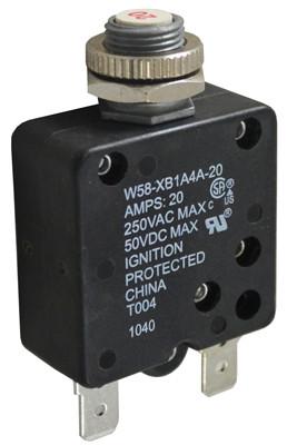 PENTAIR   50VDC/250VAC   W58XB1A4A-20