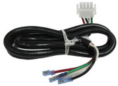 J & J ELECTRONICS | AMP OUTPUT CABLE, PUMP 2, 4 WIRE, 4 POSITION CORD, 48"