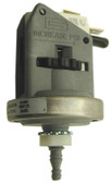 LEN GORDON | PRESSURE SWITCH, BARBED CONNECTOR , 20 AMP 24-240V | 800125-0